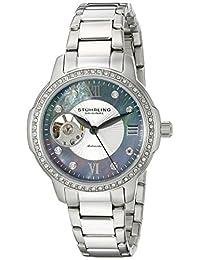 Stuhrling Original Women's 491.02 Legacy Analog Display Automatic Self Wind Silver Watch
