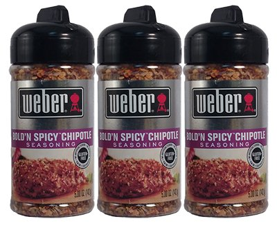 Spicy Chipotle (Weber Bold'N Spicy Chipotley Seasoning - 3 of 5 oz)