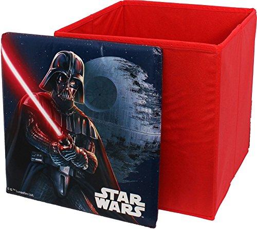 Star Wars Square Shaped Childrens Storage Box By BestTrend by Star Wars