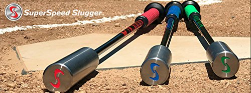SuperSpeed Slugger Pro Baseball Swing Training System 3 Piece Set Super Speed by Superspeed