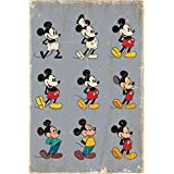 Childrens Walt Disney Mickey Mouse Evolution Maxi Poster 61x91.5cm