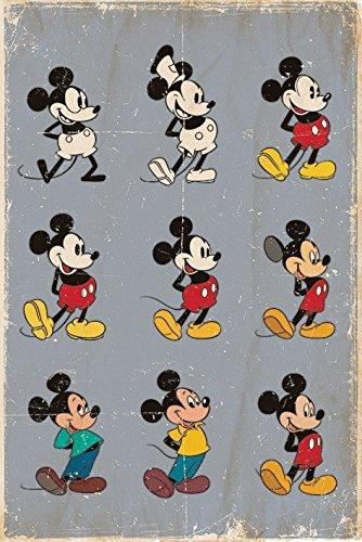 Mickey Mouse PopArtUK - Maxi Poster da bambini con immagini dell ...