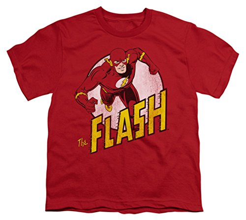 Youth: DC-The Flash Kids T-Shirt Size YL (Dc Clothing For Kids compare prices)