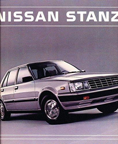 1984 Nissan Stanza 12-page Original Car Sales Brochure Catalog