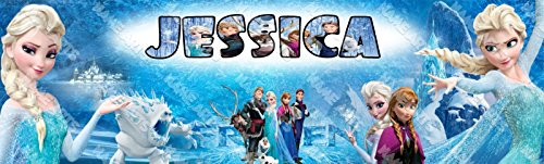 Personalized / Customized Frozen Elsa Name Poster Wall