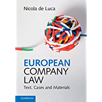 European Company Law: Text, Cases and Materials (English Edition)