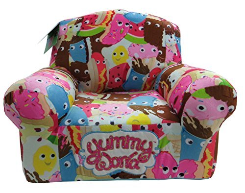 Kidrobot Yummy World Allover Characters Plush Chair by Kidrobot