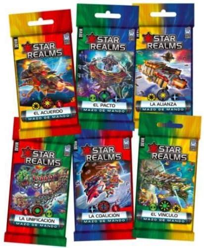 Devir- Star Realms: Mazos de Mando (BGSRMADSP): Amazon.es: Juguetes y juegos