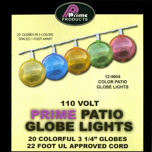 Amazon RV Awning String Lights Outdoor Patio Party Globe Hanging Mulit Color Other Products Everything Else