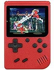 New 400 in 1 Portable Retro Game Console Handheld Game Advance Players Boy 8 Bit Gameboy 3.0 Inch LCD Sreen Support TV red