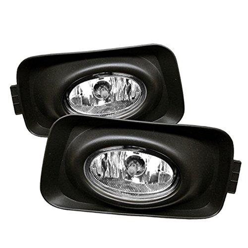 03-05 Acura TSX OEM Style Clear Fog Lights (Euro (Acura Tsx Fog Light)