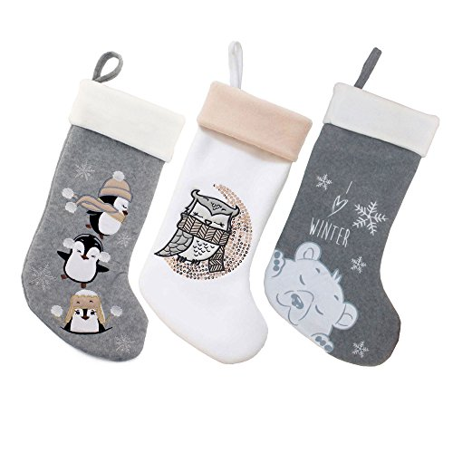 Christmas Stockings - BambooMN 3 Pcs Set 18