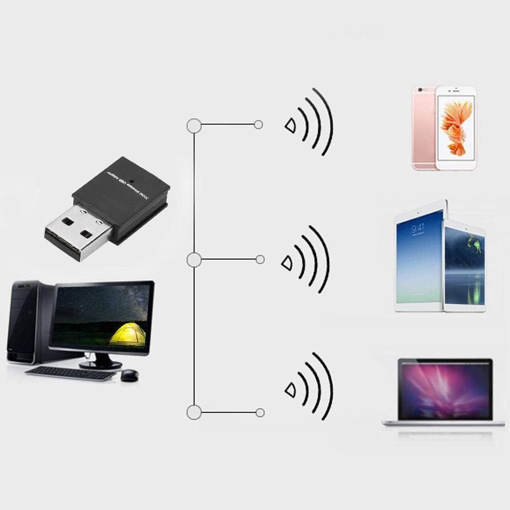 Pasamer USB WiFi Adapter 300Mbps Mini Free Driver USB WiFi Dongle Adapter Wireless Network Adapter