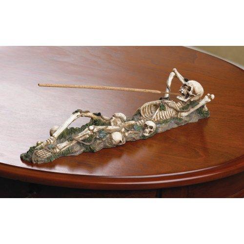 Gifts & Decor Skeleton Incense Burner Holder Collector - incensecentral.us