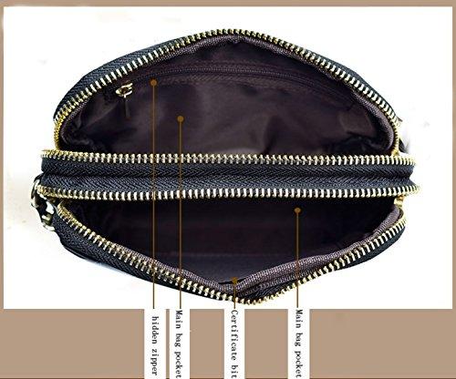 Acolchados Cuero Embrague Señora Mini Carteras Cuero Gradiente La Bolsa De Cáscara Simple Paquete De La Mano De Transporte Informal Europa Moda Bolsas 紫色