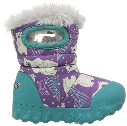 Boot Insulated Winter Purple Multi Toddler Moc B Waterproof Kids' Bogs 8xwYqIR0v