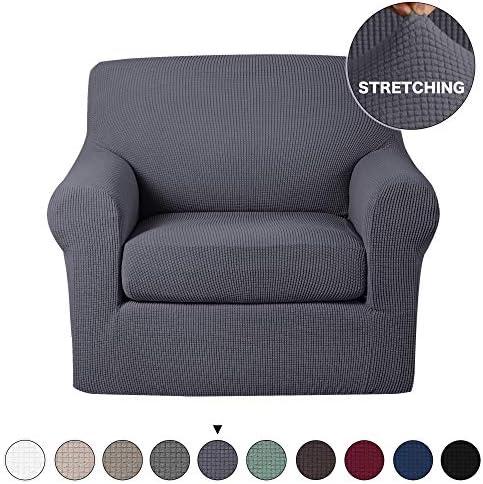 Turquoize Stretch Slipcovers Jacquard Slipover product image