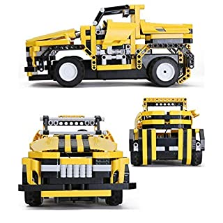 RC Car Engineering for Kids–2 in 1 Jeep/Racer Toy,Remote Control Car Kit Building Blocks Set,Educational STEM Learning Toys Gift for Boys and Girls Age 7Year Old and Above Top Birthday Kids Gifts Idea