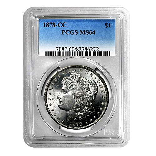 1878 CC Morgan Dollar $1 MS-64 PCGS