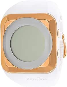 ZERONE Women's Grey Dial Silicon Band Watch - Z1-HD100111