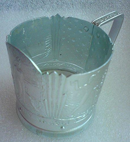 Ural Stories USSR Soviet Union Russian Aluminum Glass holder