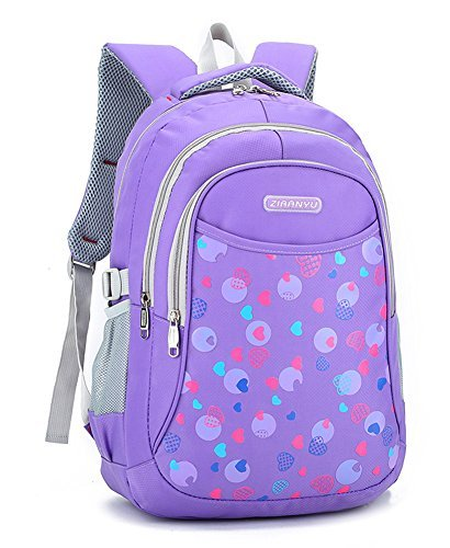 Bookbag for Elementary School Girls and Boys Water Proof Bookbag Big Student Classics Backpack