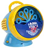 Kid Galaxy 20127 Mr. Bubble Super Bubble Machine Blower, Blue/Yellow, 5.5 x 6 x 5.5