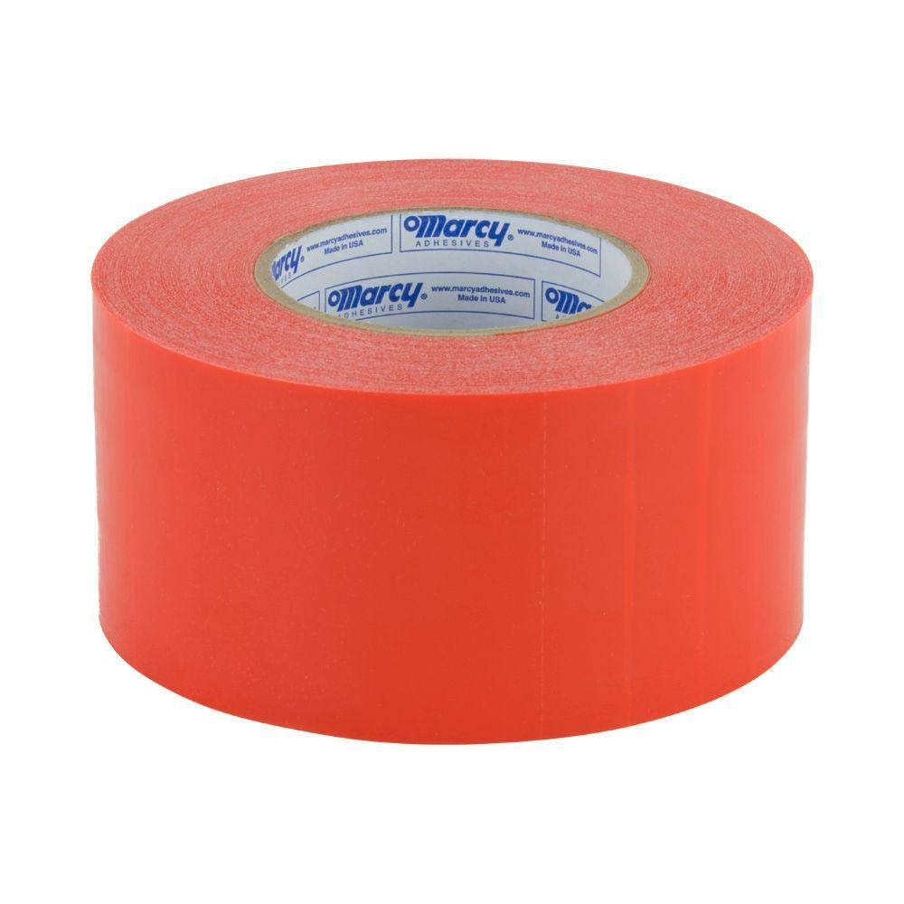 Marcy Molding Orange Tape 3X300 FT Glass Technology