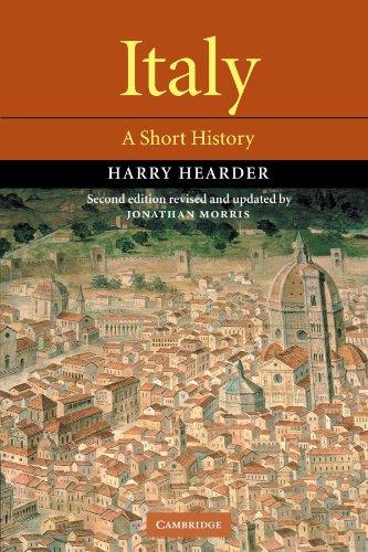 Italy: A Short History - Ma Burlington Italian