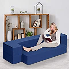 This multi-functional mattress is perfect for unexpected guests, sleepover, apartment dwellers, or leisure activities such as having a cup of tea/coffee, reading a book, watching TV or gaming. With Gel infused foam and supportive high density...