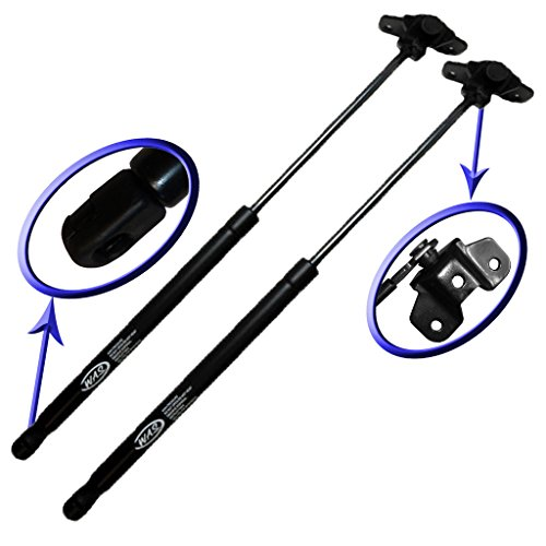 Two Front Hood Gas Charged Lift Supports for 2003-2007 Honda Accord. Left or Right Side. WGS-125-2 (03 Honda Accord Hood Shocks)