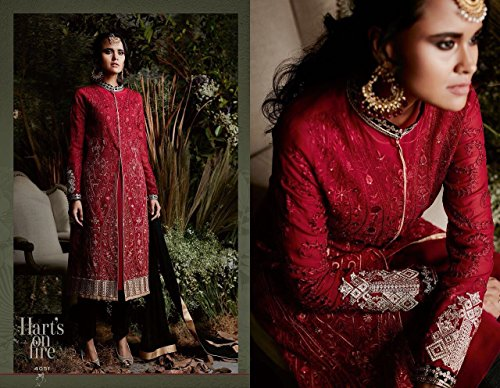 Emporium Women Collezione Dress Indian Georgette Straight Formale Ethnic Salwar Il Bollywood Di Designer 2669 Leisure Tempo Pakistani Per Libero qaBww5Td