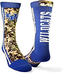 University of Kentucky Camo Performance Athletic Sock