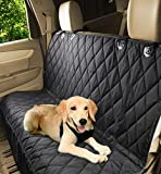 Jespet Luxury Quilted Rear Waterproof Non Slip Backing Seat Cover for Cars Trucks and SUV's- Heavy Duty & Waterproof with Side flaps + A Free Safety Seat Belt For Sale