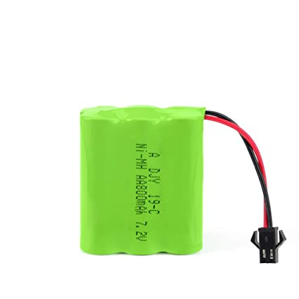 Nickel Metal Hydride Battery >> Amazon Com Nqd 7 2v 800mah Rechargeable Nickel Metal Hydride