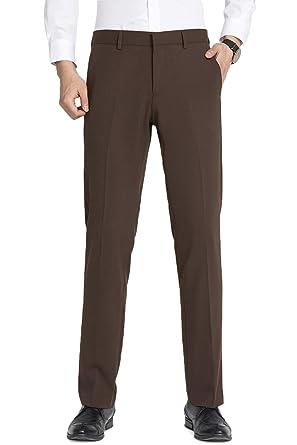 TALITARE Pantalones de Traje Hombre, Slim Fit, Pantalones de ...