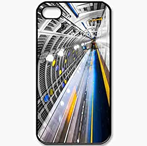 Protective Case Back Cover For iPhone 4 4S Case Metro Black