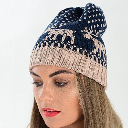 Adam azul talla Eesa Sombrero de mujer rxrR8P