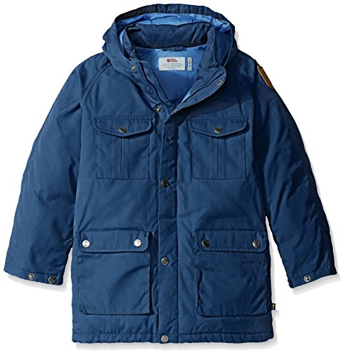Fjallraven Kids Greenland Down Parka, 134, Blueberry by Fjallraven (Image #1)