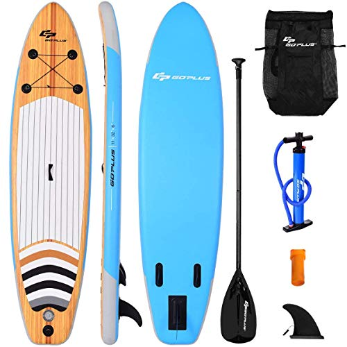 Goplus Inflatable Stand Up Paddle Board iSUP Cruiser 6