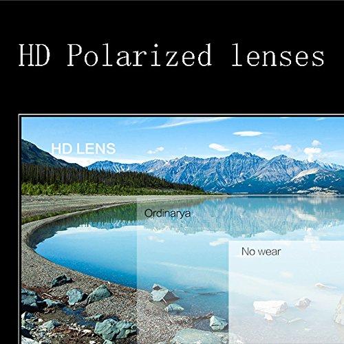 Lunettes UV Protection Protection Rayonnements Black Femmes Lunettes Soleil Moolo de Soleil Polarisées Lunettes UV400 Les de Contre O7nwqd16q