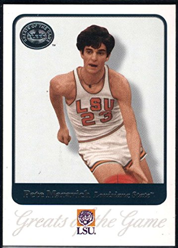 Basketball NBA 2001 Fleer Greats of the Game #62 Pete Maravich (Pete Maravich Nba)