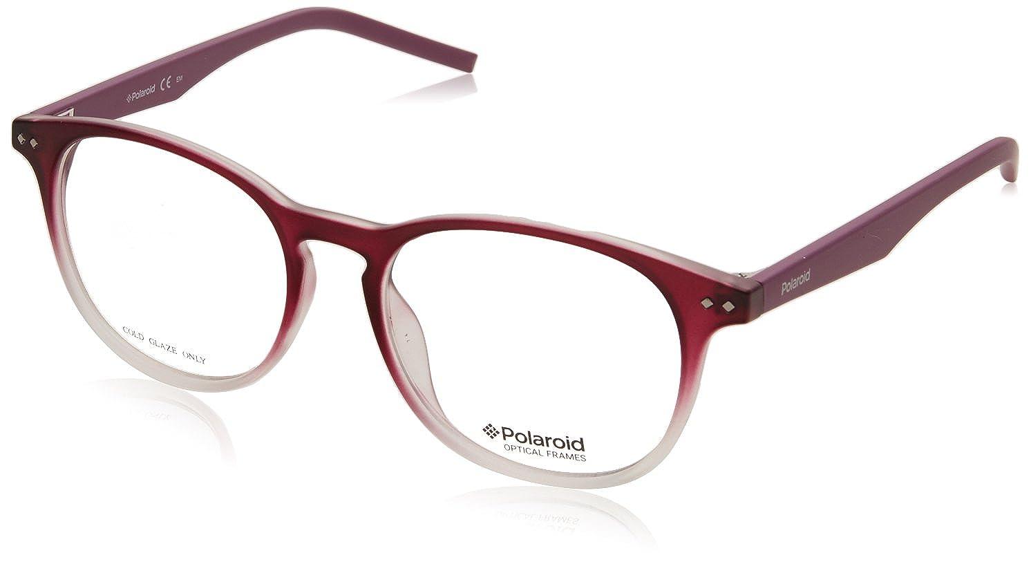 Polaroid PLD312 LHF17 50mm Red Eyeglasses
