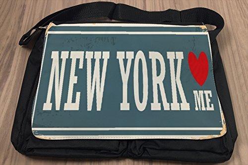Umhänge Schulter Tasche Reisen Küche New York USA bedruckt P5Jm2