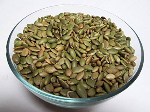 Pumpkin Seeds (Pepitas)-Roasted & Unsalted, 3 LB Bag