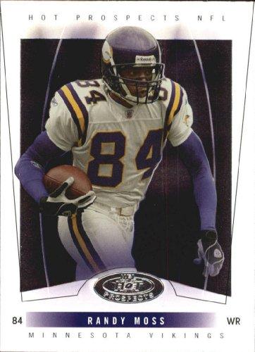 - 2004 Fleer Hot Prospects Football Card #32 Randy Moss