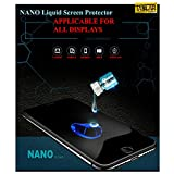 Taslar™ Nano Liquid Glass Screen Guard Protector, Liquid Glass Screen Protector for Your iPhone X, Honor 7X, Oneplsu 5T, Lenovo K8 Note, RedMi Y1, Y1 Lite, Moto G5s Plus, Redmi 4, Nokia 5 6 8, Infocus Turbo, Galaxy On5 Pro On7 Pro, Zuk Z2 Plus, Mi Max 2, Mi Mix 2, Coolpad Note 5, Kindle Paperwhite, Oppe F3, Moto C, Note 8 or any display of Mobile Phones, Tablets, Phablets, iPods, Nintendo Switch, Cameras - (Pack Of 2)