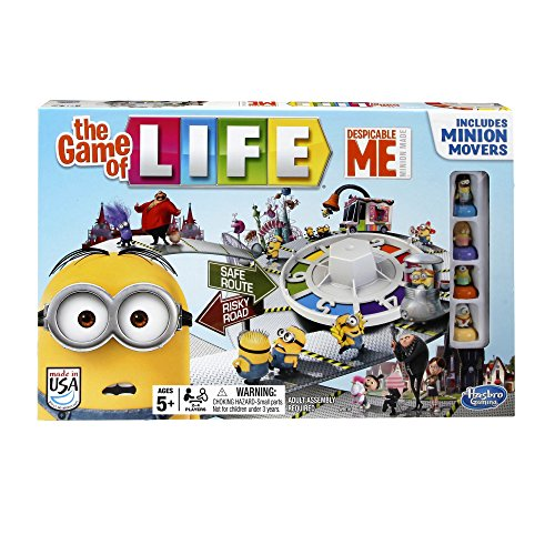 Despicable Me Minion The Game of Life Game (Life Classic Board Game compare prices)