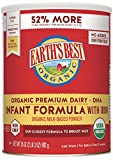 Earth's Best Organic Premium Dairy Infant Formula with Iron, 35 Ounce