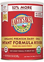 Earth's Best Organic Infant Formula with Iron Review